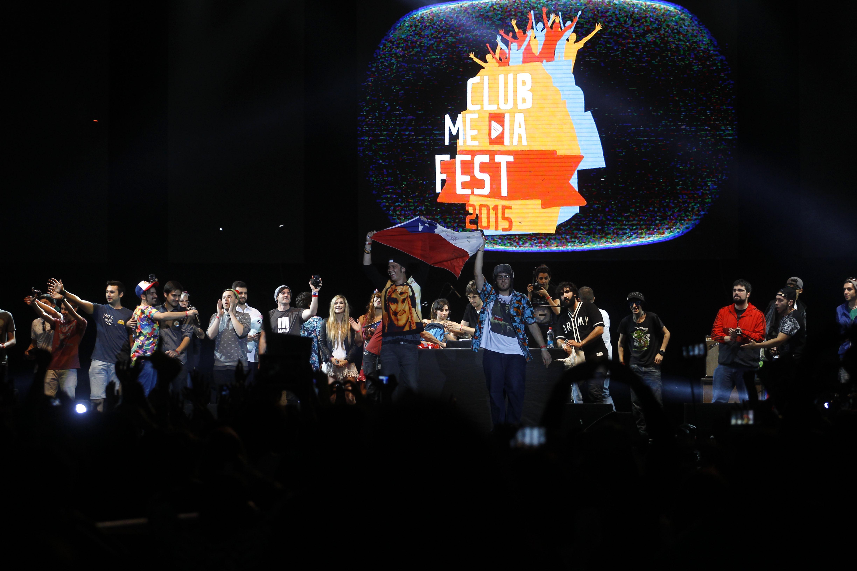 Éxitosa primera edición de la gran cumbre de YouTubers: Club Media Fest