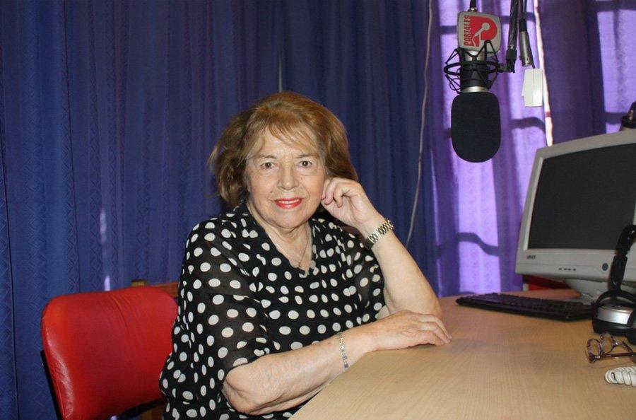 La radio está de luto: Falleció la destacada locutora Alodia Corral.