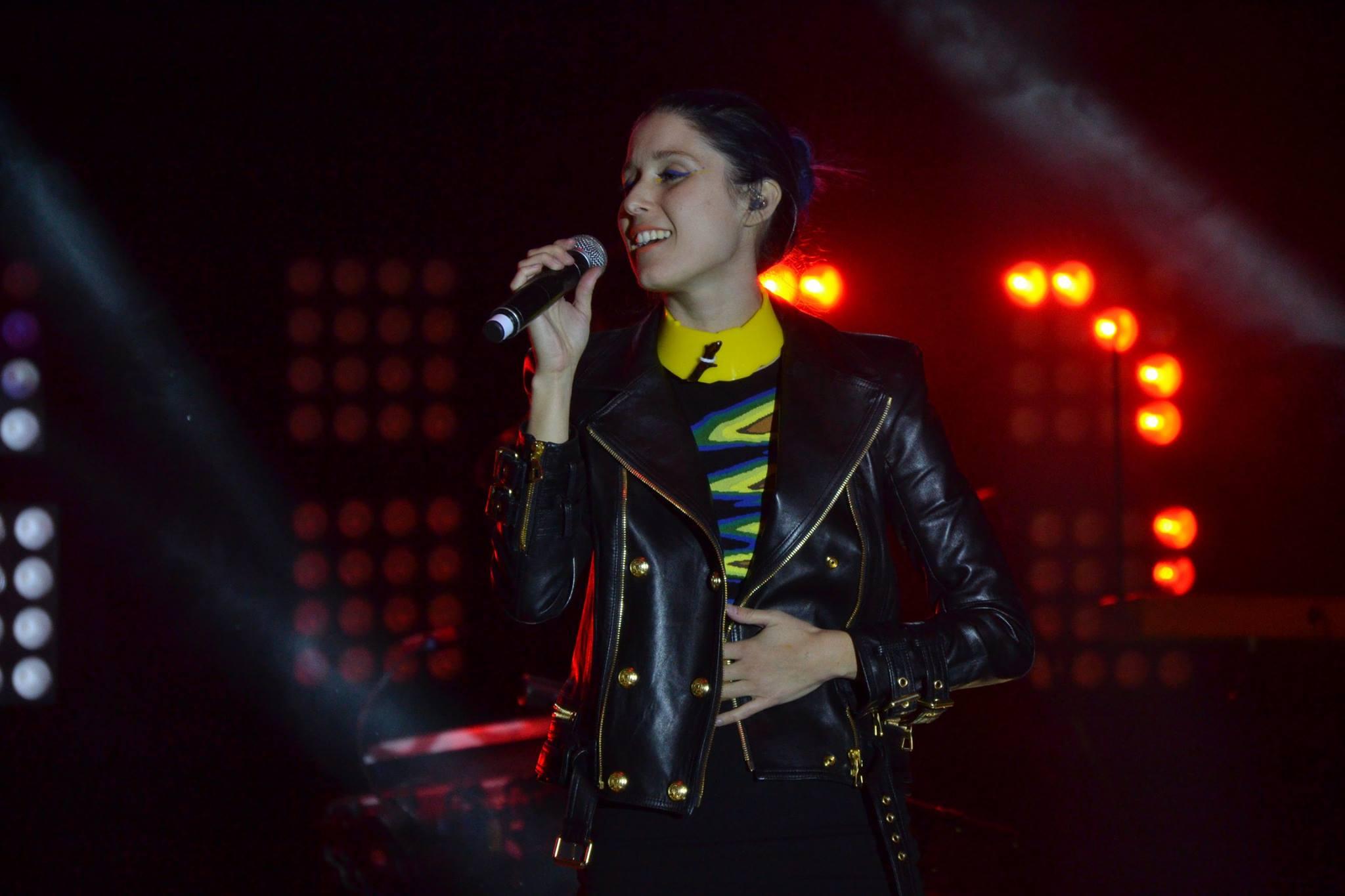 Francisca Valenzuela deleitó a su publico en Viña del Mar