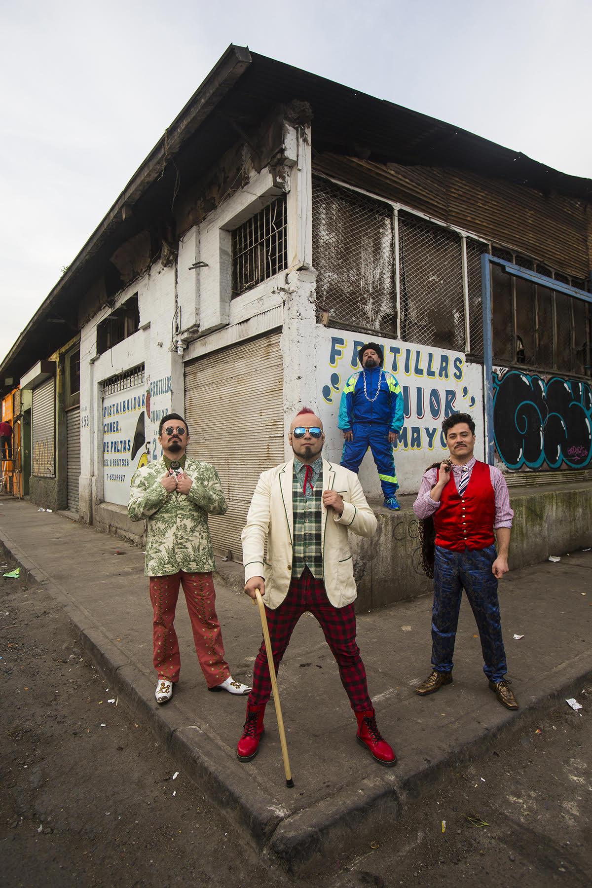 Chancho en Piedra lanza Disco con Show en vivo