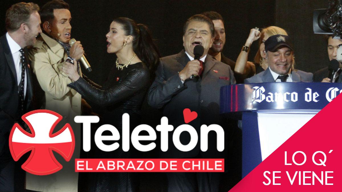 Lo que se viene: Teletón 2016 – El Abrazo de Chile