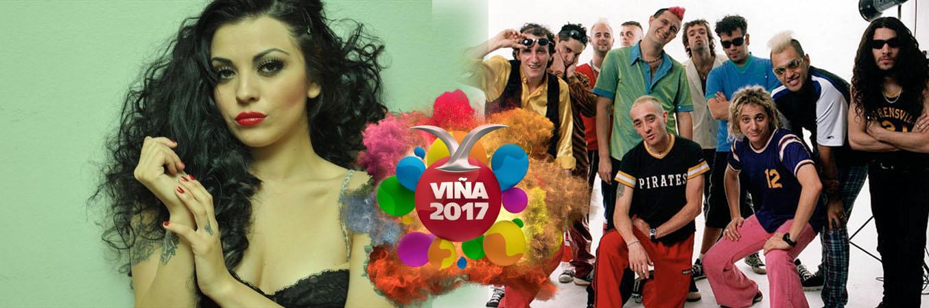 Mon Laferte y Los Autenticos Decadentes se suman al Festival de Viña 2017