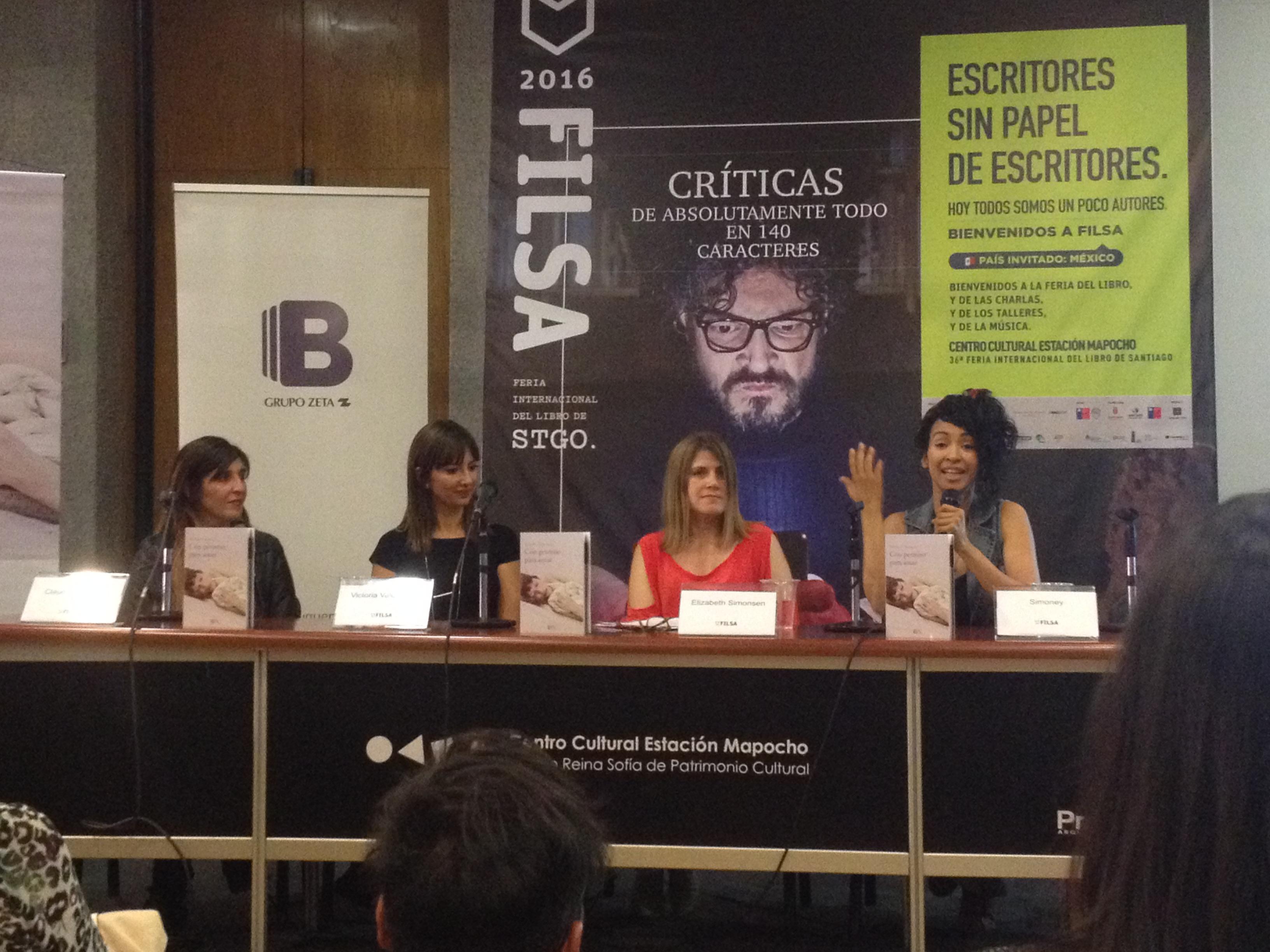 """#ModoFILSA2016: """"Con permiso para amar"""" La nueva novela de Victoria Valenzuela"""