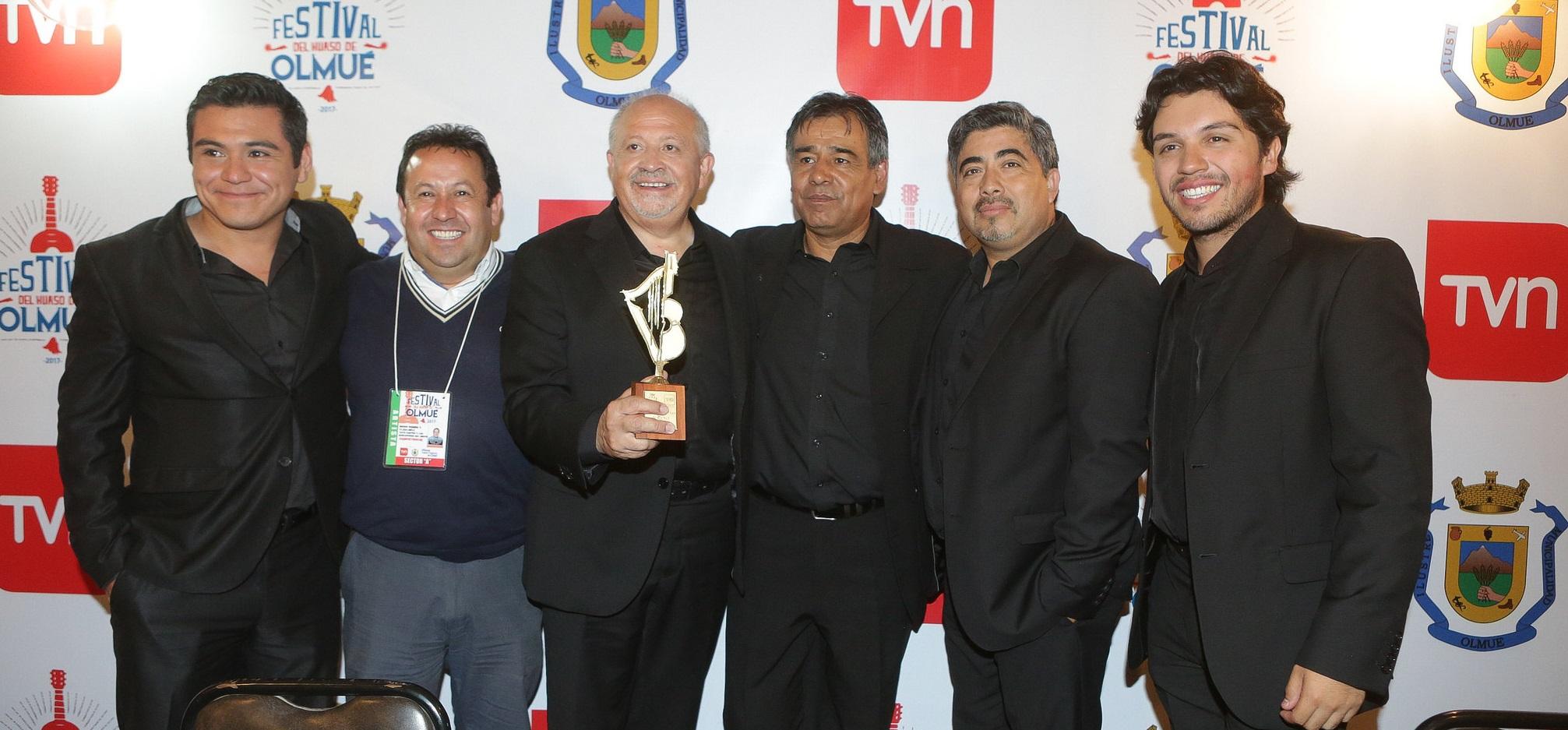 #Olmué2017: Yayo Castro y Los Surcadores del Viento son los ganadores de la competencia