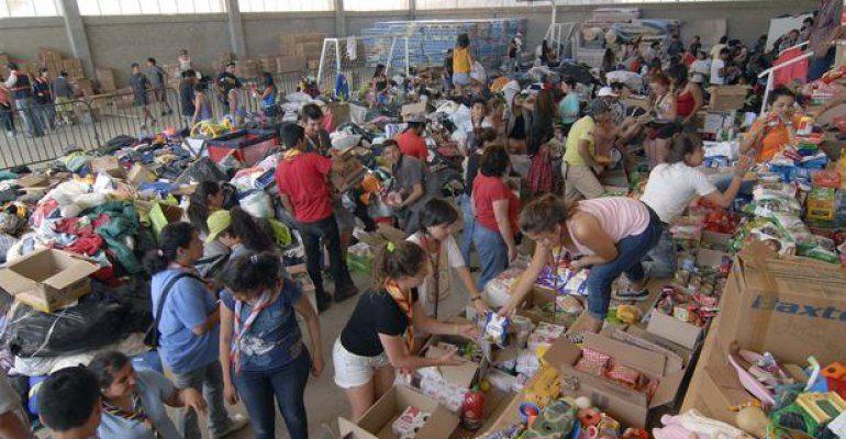 [SERVICIO A LA COMUNIDAD] Centros de Acopio para ir en ayuda de Damnificados y Bomberos