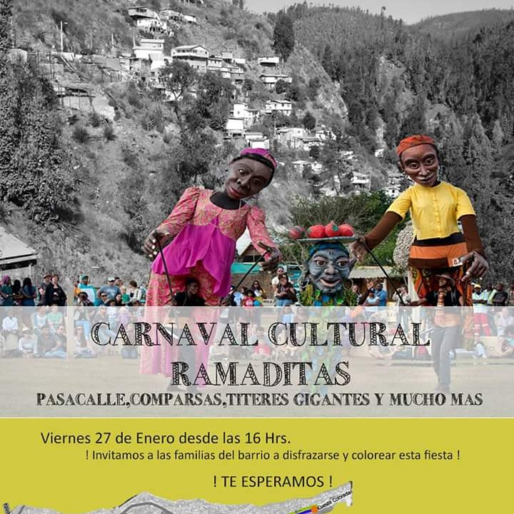 Se viene el Carnaval Cultural en el Cerro Ramaditas. #PanoramasMR