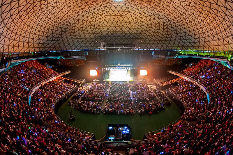 Evento solidario llegará al Movistar Arena para la zona centro sur del país.