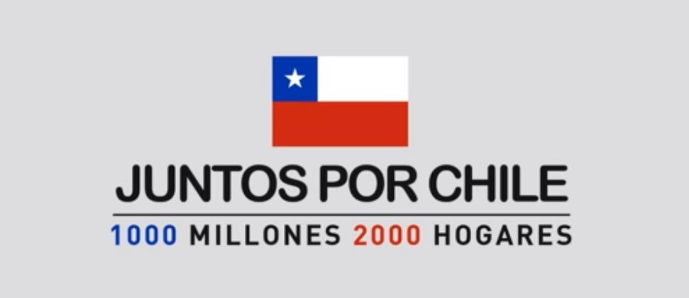 #JuntosPorChile, la campaña que une a TVN y Mega en ayuda a las víctimas