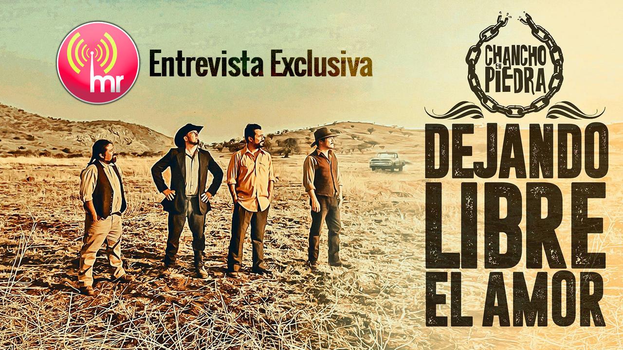 """[ENTREVISTA] """"Dejando libre el amor"""" el nuevo single de Chancho en Piedra"""