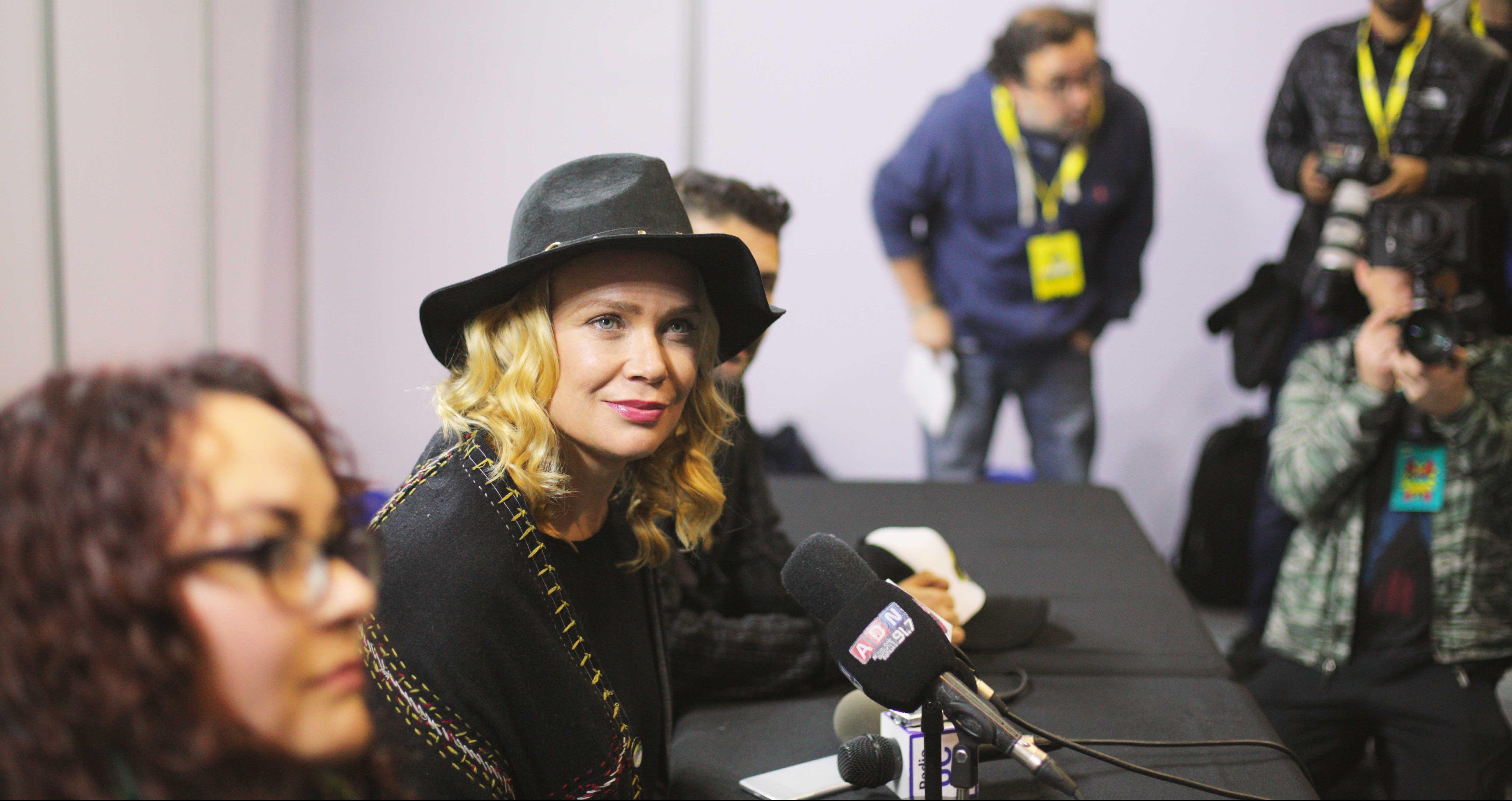 Laurie Holden confesó que tiene miedo a las películas de terror #ModoComicCon