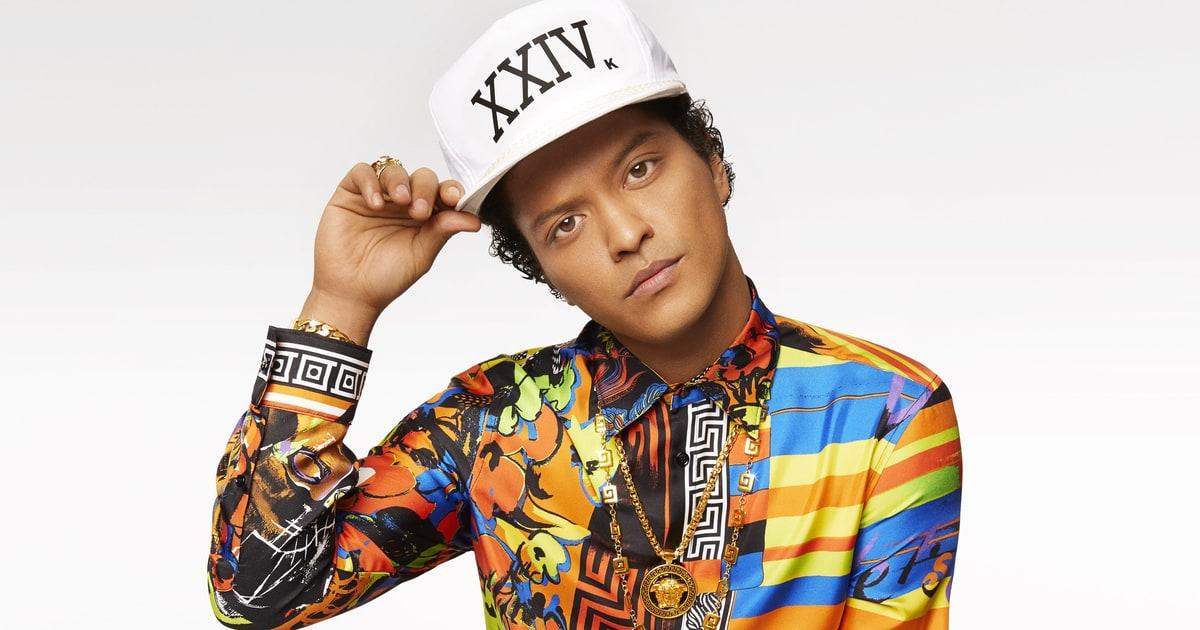 Bruno Mars confirma su regreso a nuestro país para el 28 de noviembre