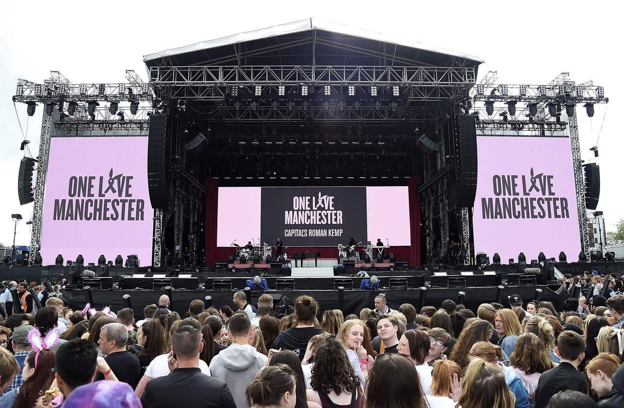 #OneLoveManchester: El amor y la música derrotan al odio
