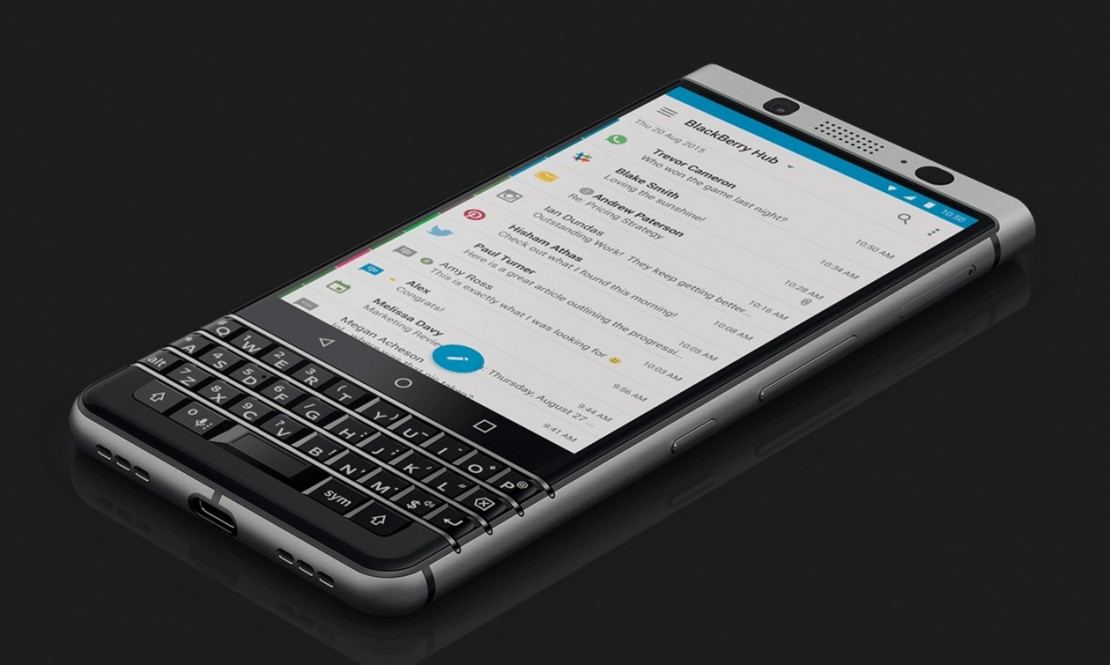 "BlackBerry vuelve a Chile y Movistar ofrecerá en exclusiva su nuevo modelo ""Blackberry KEYone"""