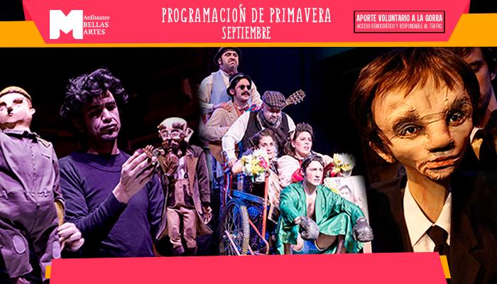 """El """"Teatro a la Gorra"""" llega con novedades en el Anfiteatro Bellas Artes"""