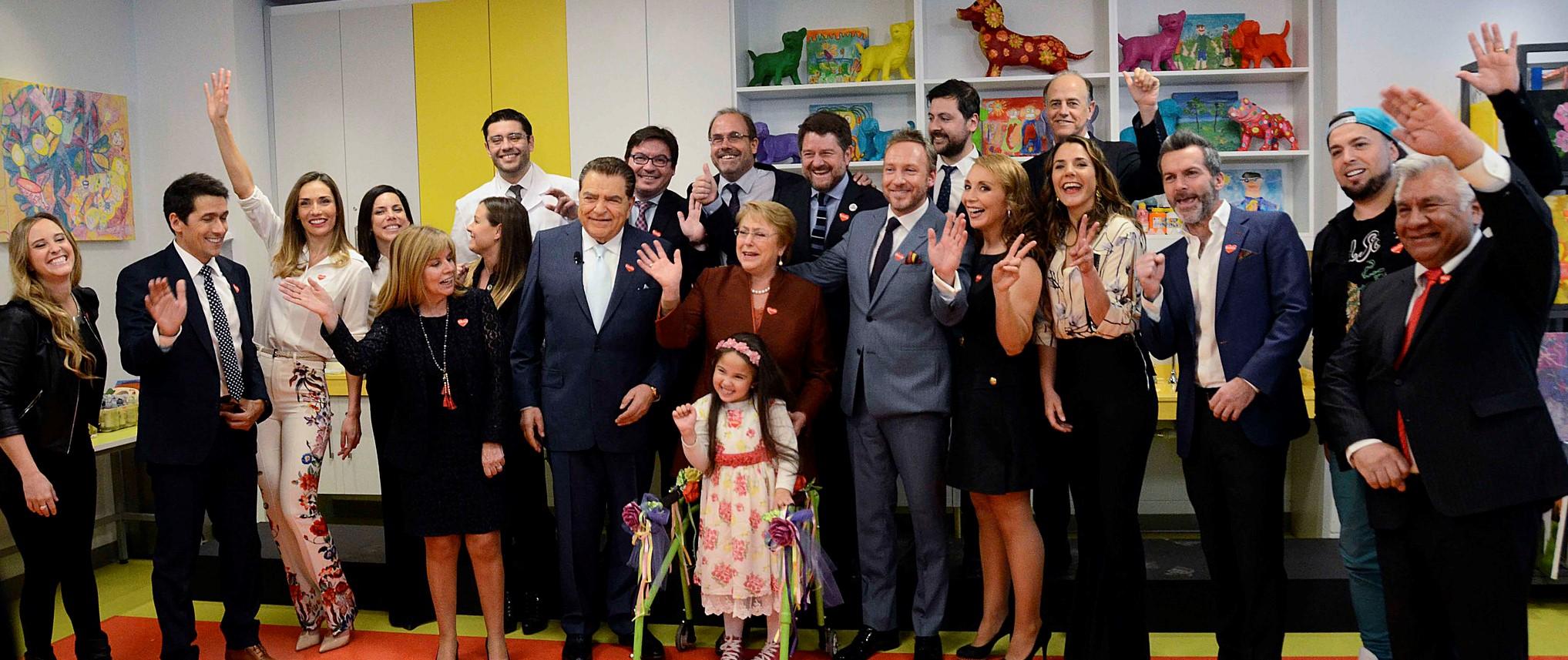 Se lanzó la Teletón 2017 con la Ampliación del Instituto de Santiago