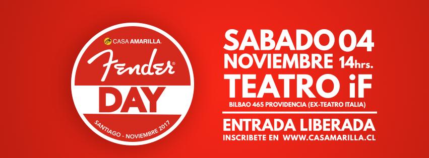 Casa Amarilla presenta su Fender Day Santiago