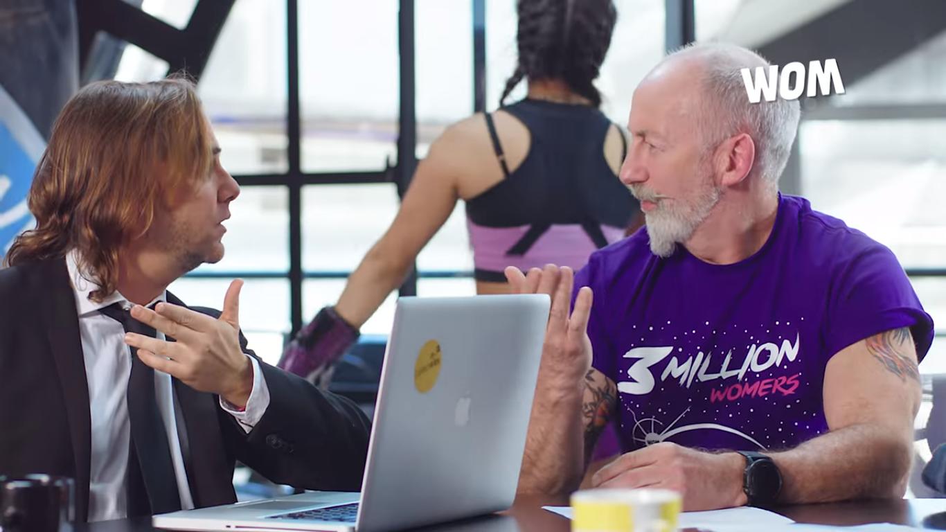 Tío WOM es protagonista en un nuevo viral de la compañía