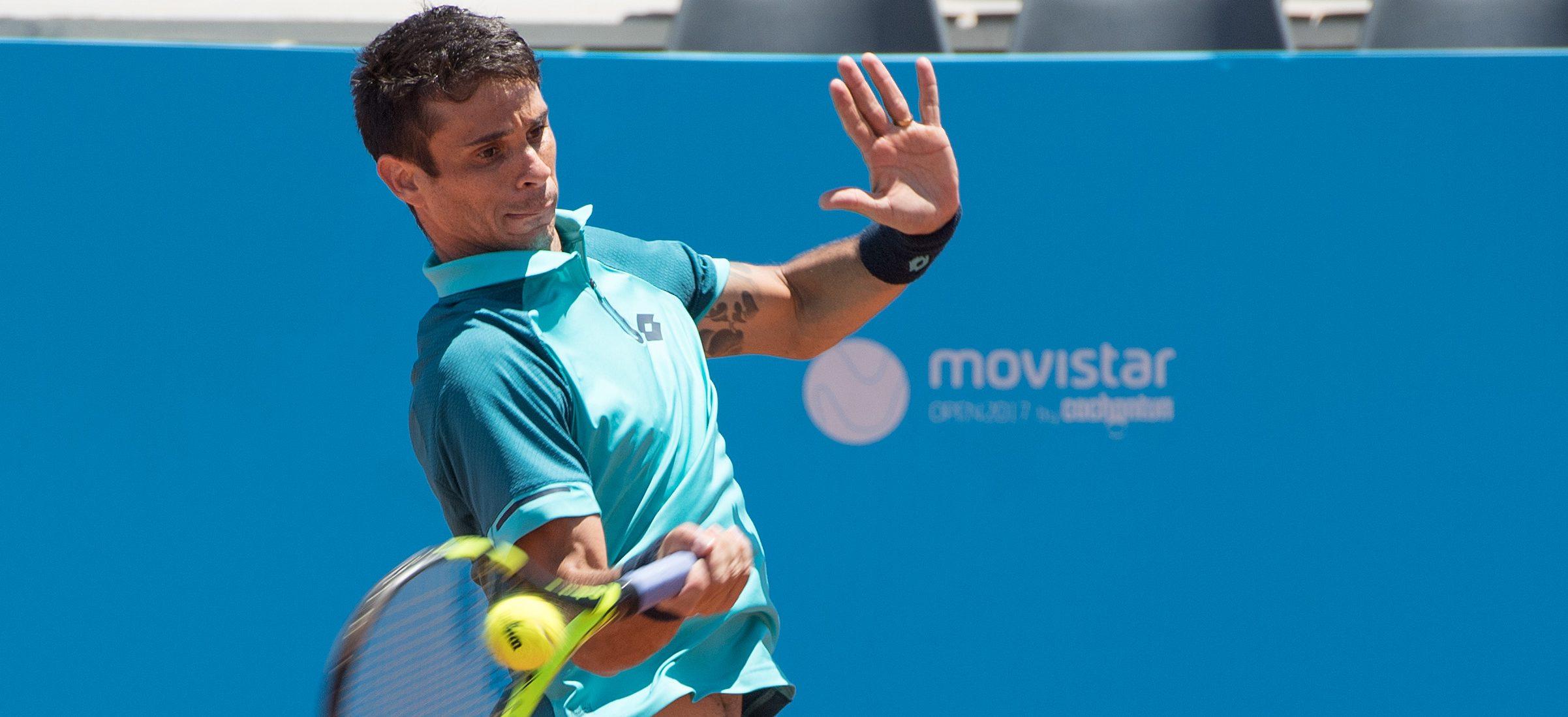 Triunfo de Jarry y homenaje a tenistas marcaron la tercera jornada del Movistar Open