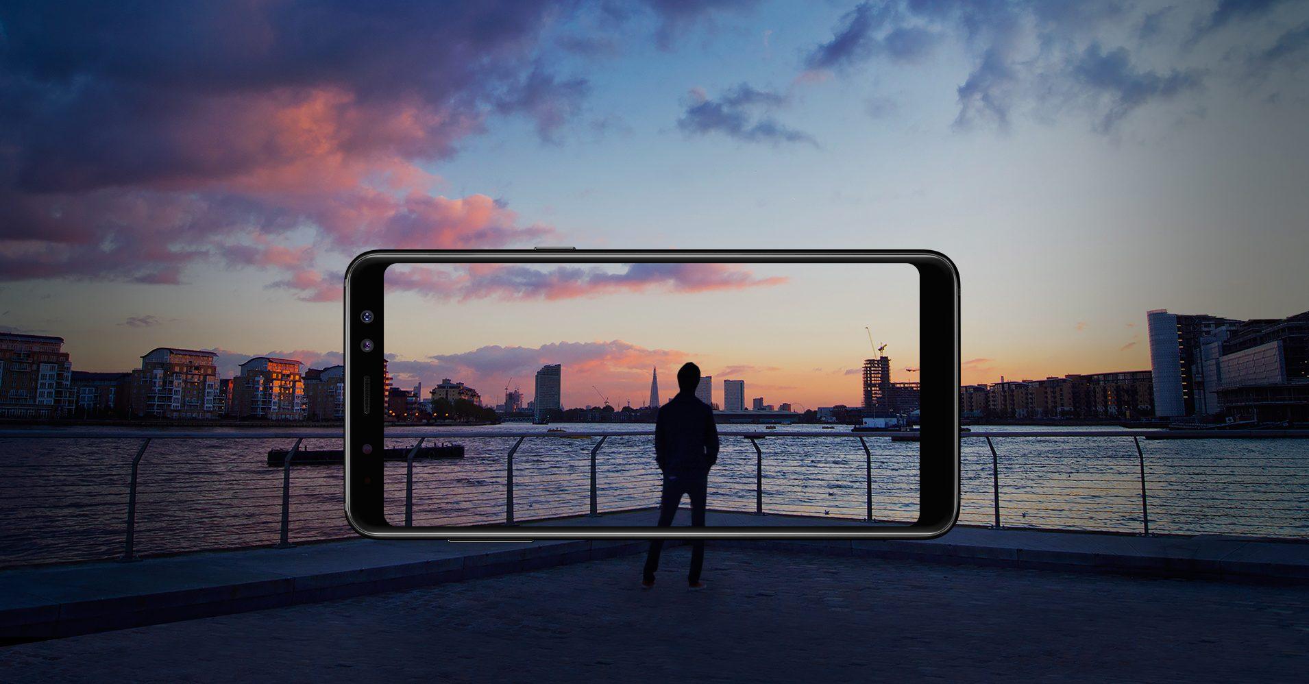 Llega a Chile el primer Smartphone de Samsung con doble cámara frontal