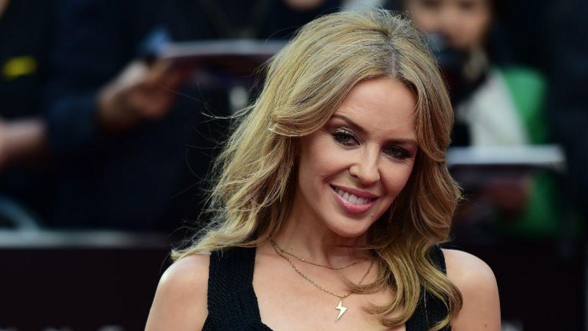 """Kylie Minogue llegó a Chile y estrenó el videoclip de su nueva canción """"Dancing"""""""