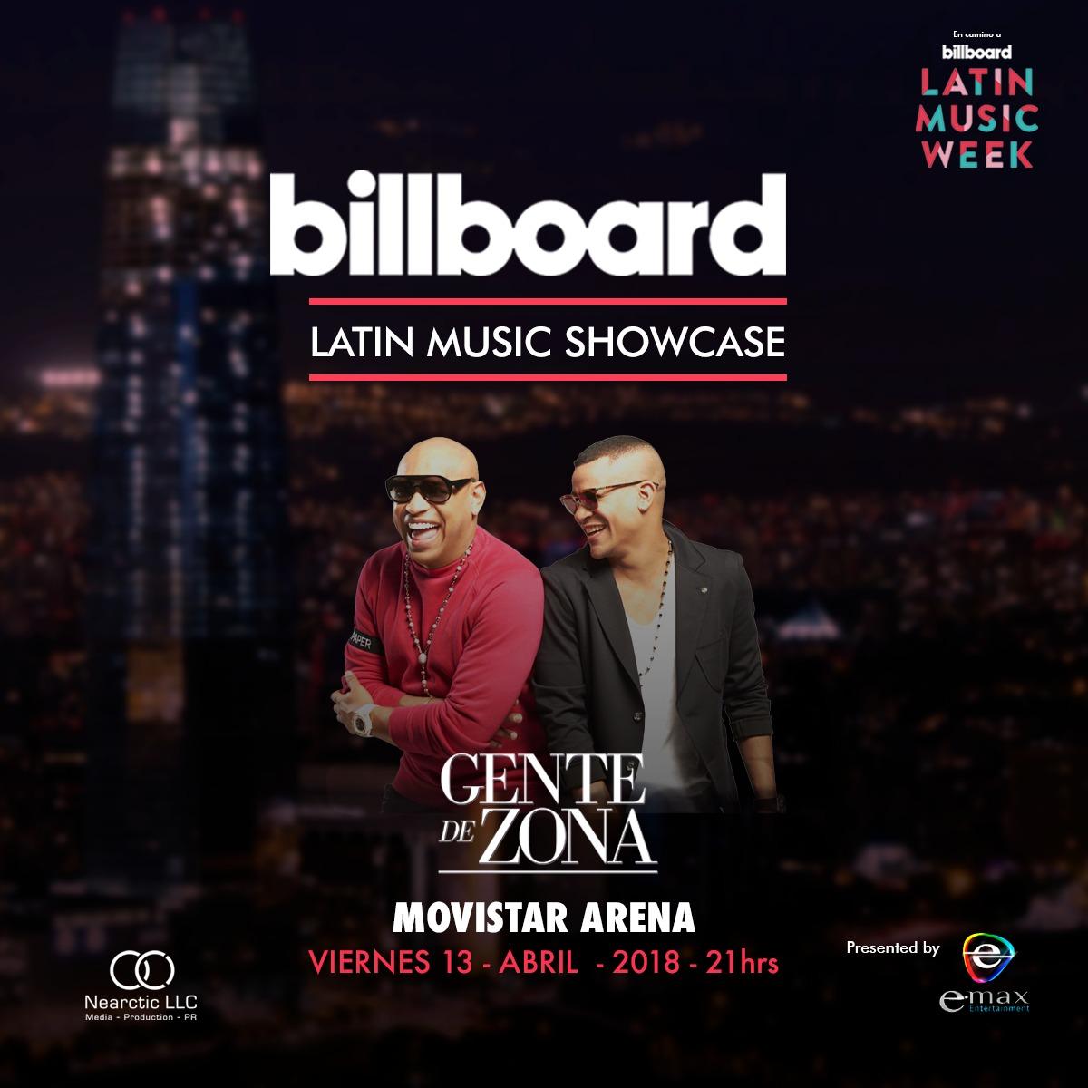 Billboard Latin Music Showcase Chile reunirá importantes figuras de la música latina actual