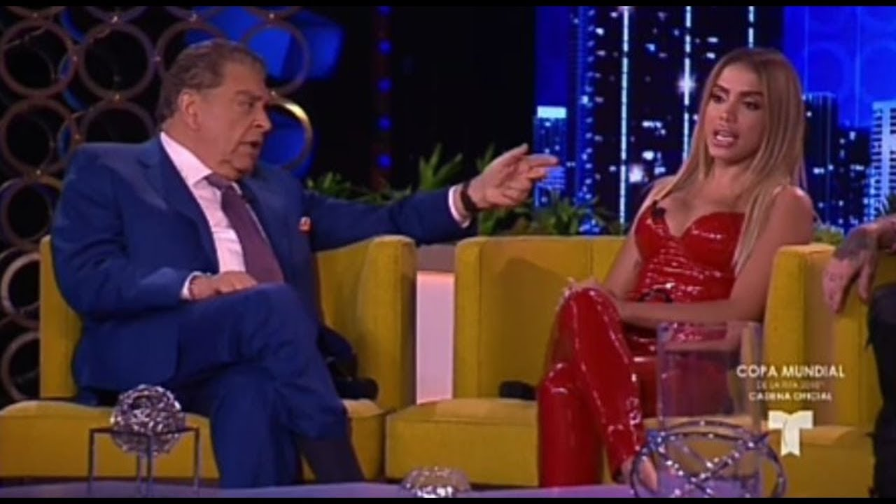 Anitta aparece como invitada estelar en el programa de Don Francisco