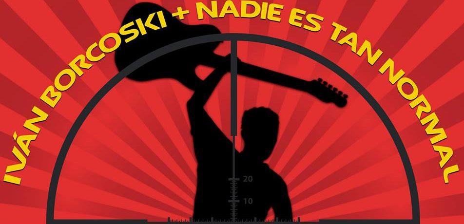 Ivan Borcoski + Nadie es tan normal se presenta el 13 de abril en Sala Master