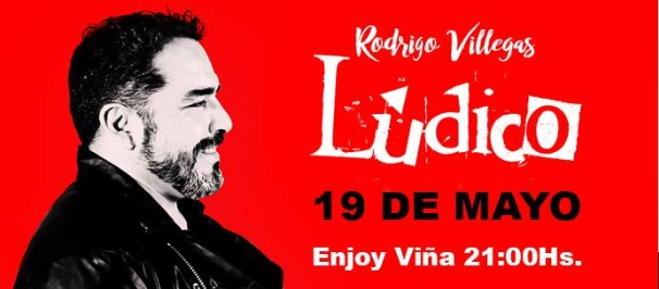 """""""Ludico"""" el nuevo show de Rodrigo Villegas que parte en Viña"""