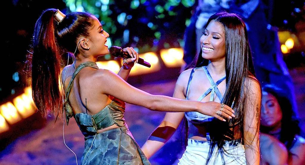 """Ariana Grande y Nicki Minaj lanzan su nuevo tema """"Bed"""""""