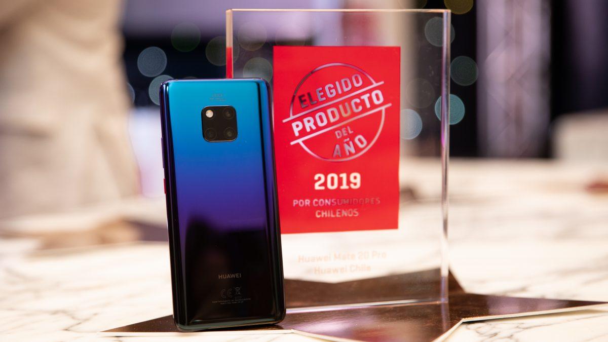 Huawei Mate 20 Pro se corona como el Producto del Año