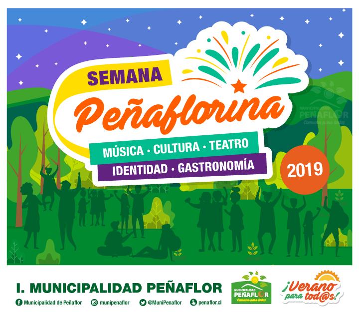 Francisca Valenzuela, Dios Salve a la Reina, Avello y Jorge Alís se presentarán en la Semana Peñaflorina 2019