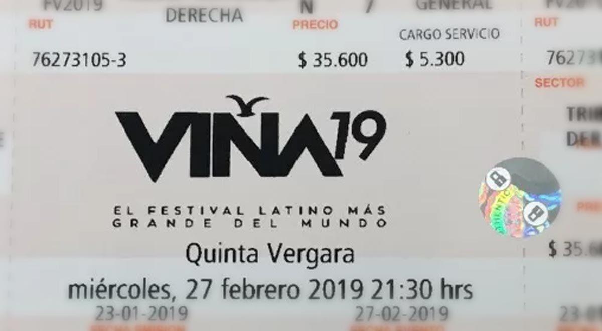 Hasta 48 mil personas esperan por Entradas para el Festival de Viña 2019