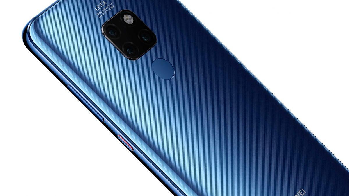 HUAWEI Mate 20 llega a Chile en un nuevo color inspirado en el azul de la medianoche