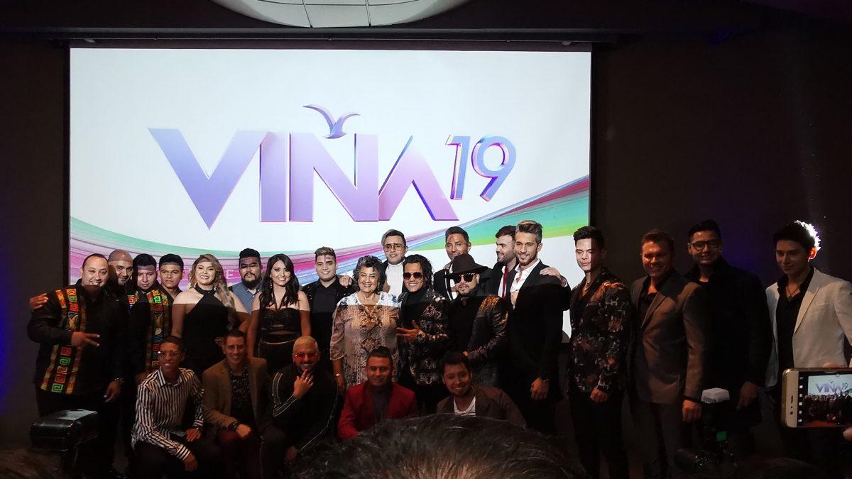 #ModoViña2019 Se presentaron oficialmente los Competidores del Festival de Viña del Mar