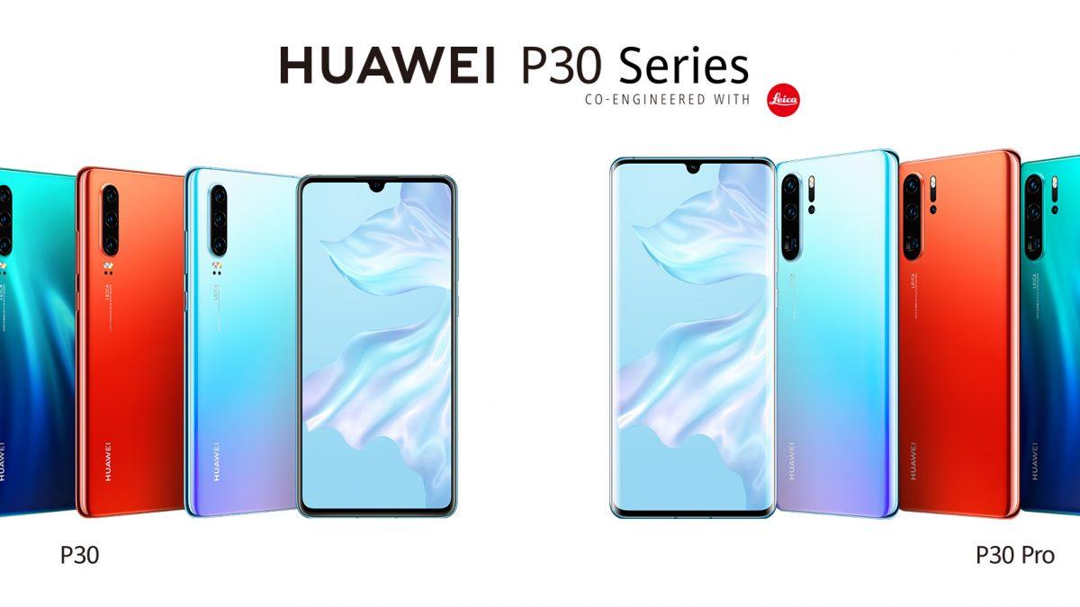 """Huawei presentó en sociedad su nuevo Telefono """"P30"""""""