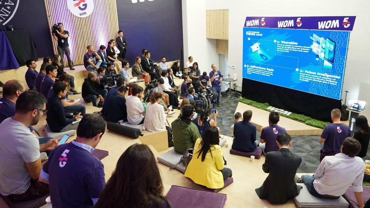 WOM realizó su primera prueba experimental de red 5G en Chile