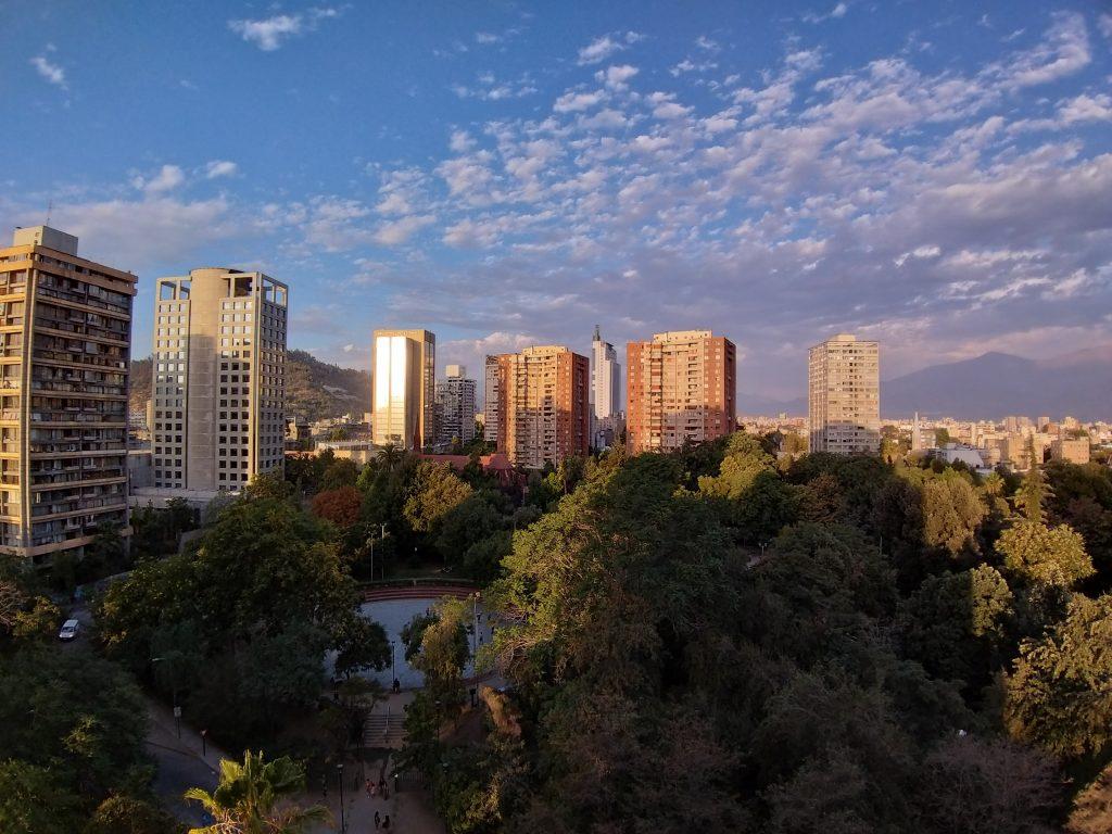 Vista al parque San Borja