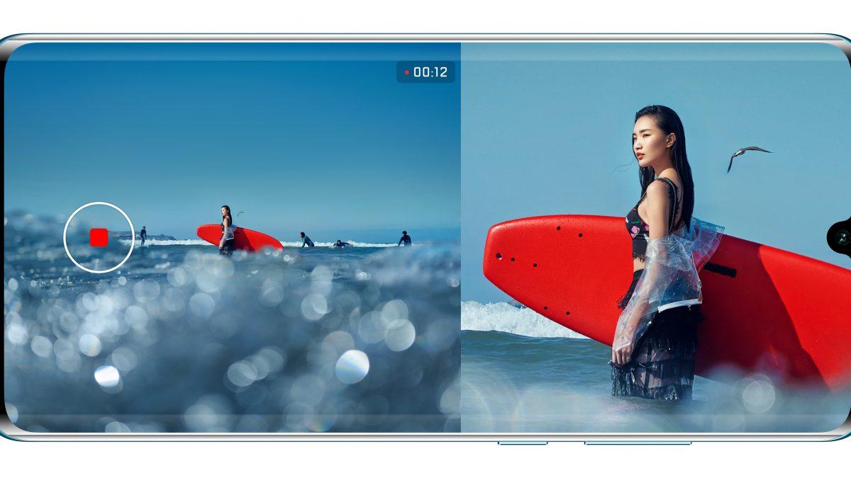 """La última actualización de Huawei P30, el """"Dual View"""""""