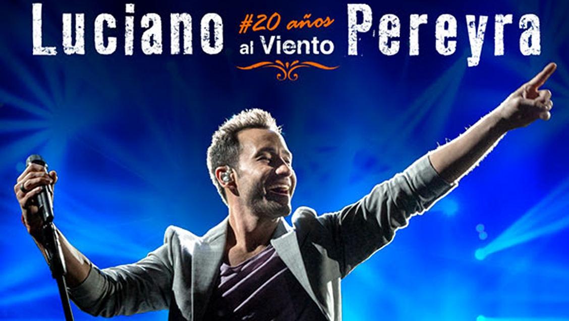 """""""20 años al viento"""" el disco especial que lanza Luciano Pereyra y anuncia concierto en Chile"""