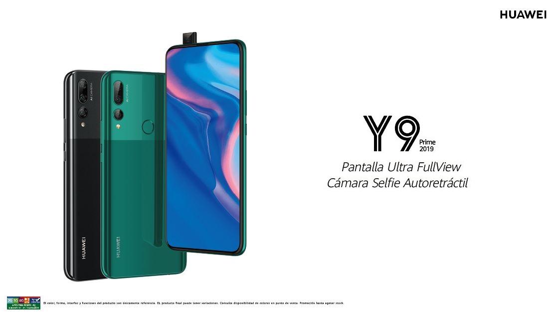 HUAWEI lanza en Chile su nuevo equipo de la serie Y: el Y9 Prime 2019