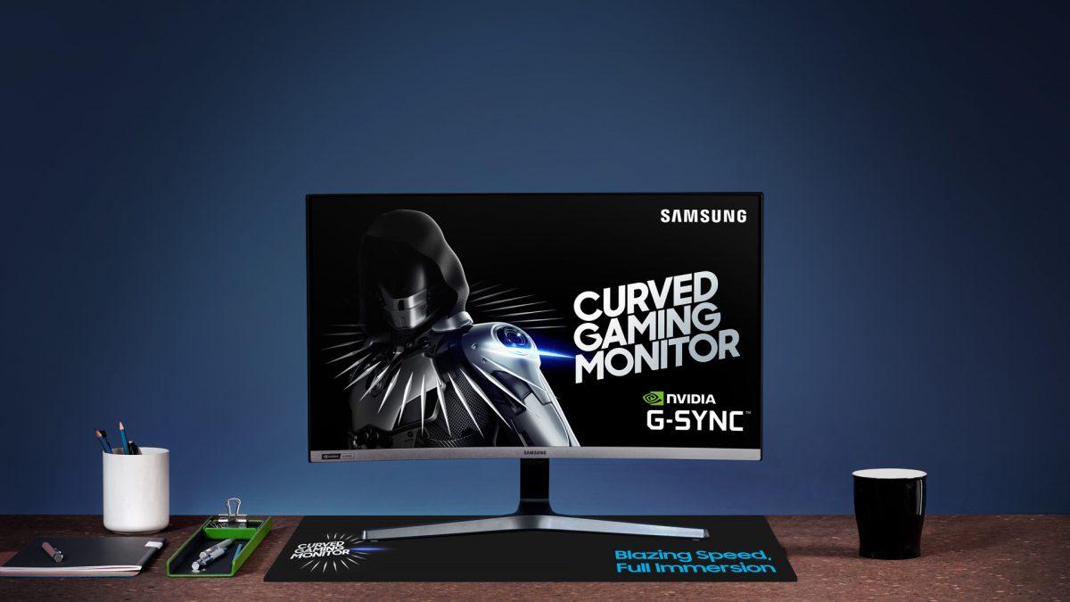 Samsung presenta el monitor curvo para juegos: CRG5