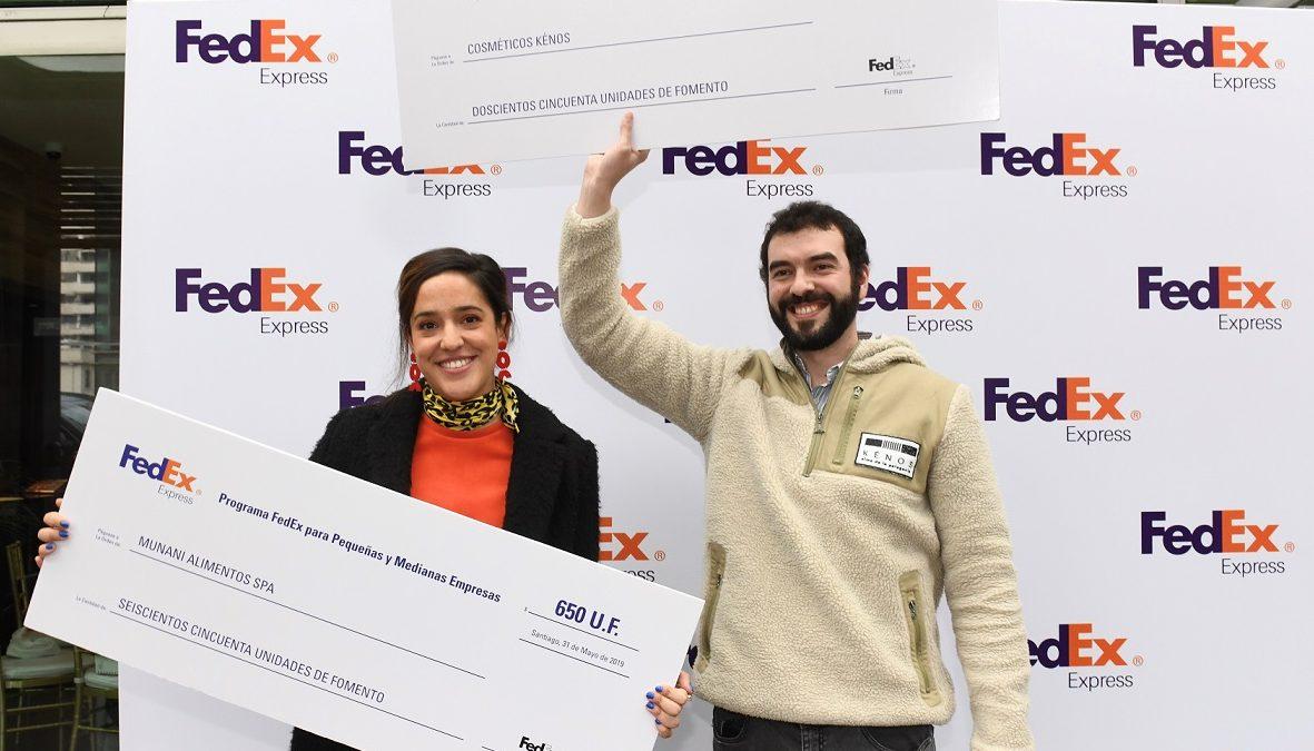 2 pequeñas empresas fueron ganadores del Programa FedEx para emprendedores en Chile