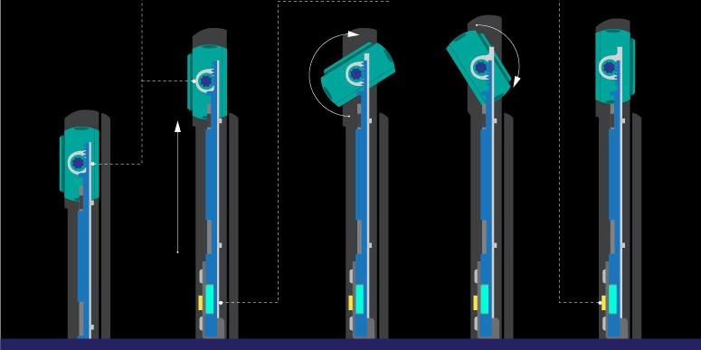 Una mirada a la revolucionaria cámara giratoria del Galaxy A80