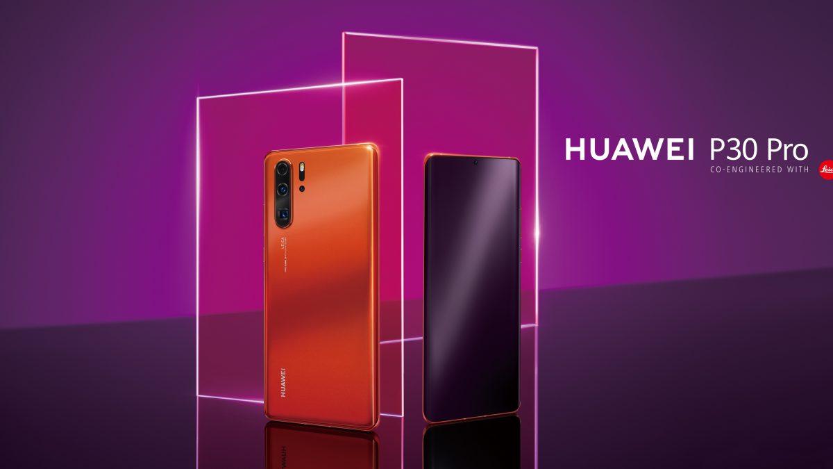 Amber Sunrise: El nuevo y llamativo color del HUAWEI P30 Pro llega a conquistar Chile