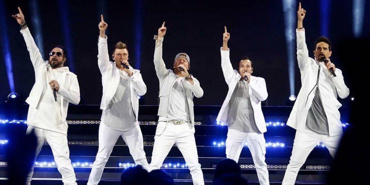 Backstreet Boys vuelven a Chile con un concierto en el Bicentenario de La Florida