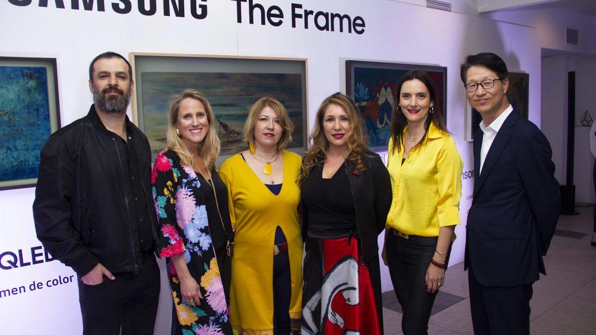 """5 artistas chilenos entran a la galería virtual de  Samsung """"Art Store"""""""