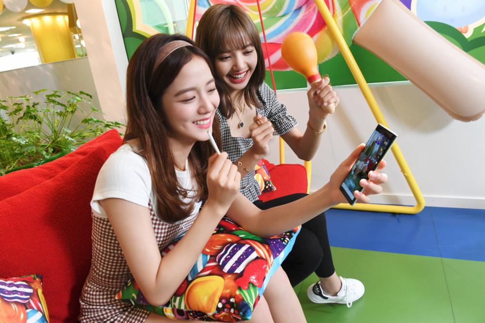 Personajes de Candy Crush cobran vida gracias a la  realidad aumentada del Galaxy Note10