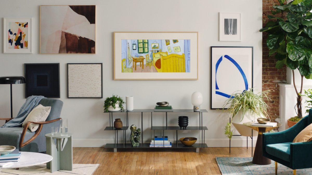 ¿Cómo funciona el Modo Arte en el televisor The Frame?