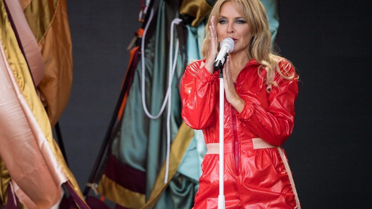 Show de Kylie Minogue fue el más visto de la historia de Glastonbury