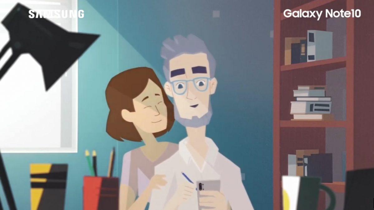 Emprendedores chilenos crean corto animado con un Galaxy Note10